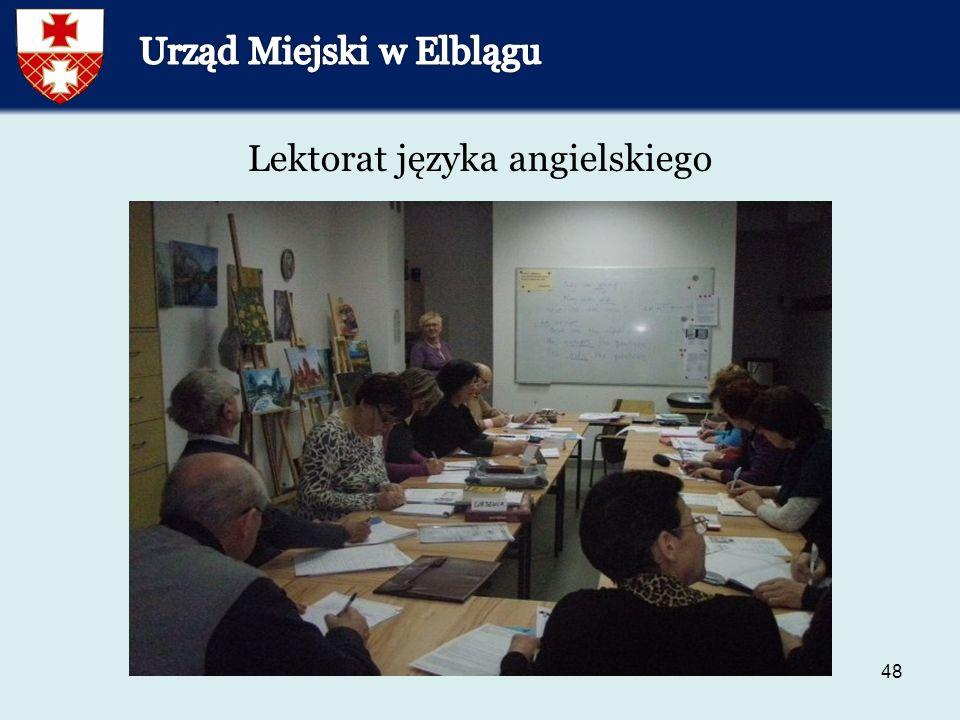 48 Lektorat języka angielskiego