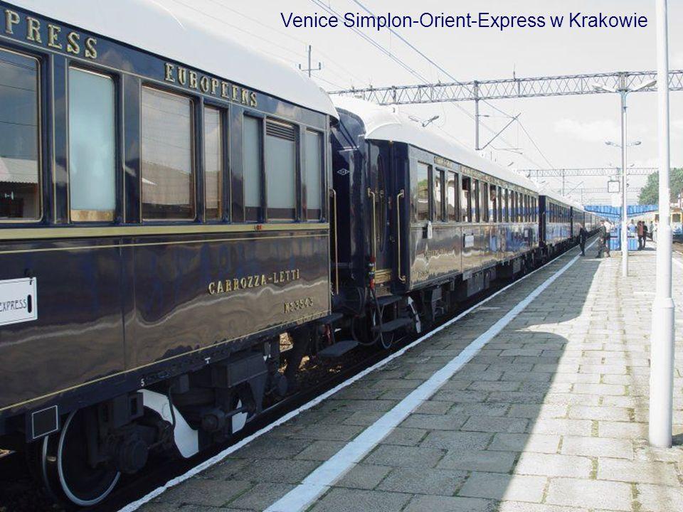 Venice Simplon-Orient-Express w Krakowie