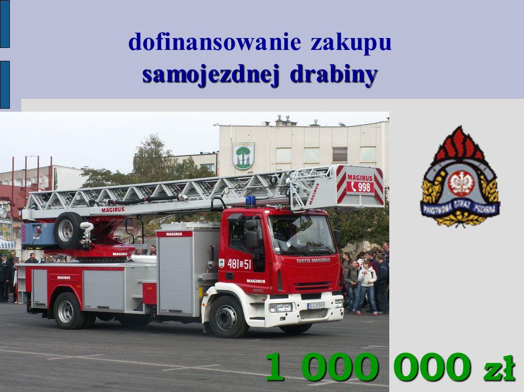 samojezdnej drabiny dofinansowanie zakupu samojezdnej drabiny 1 000 000 zł