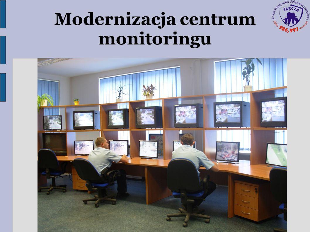 Modernizacja centrum monitoringu