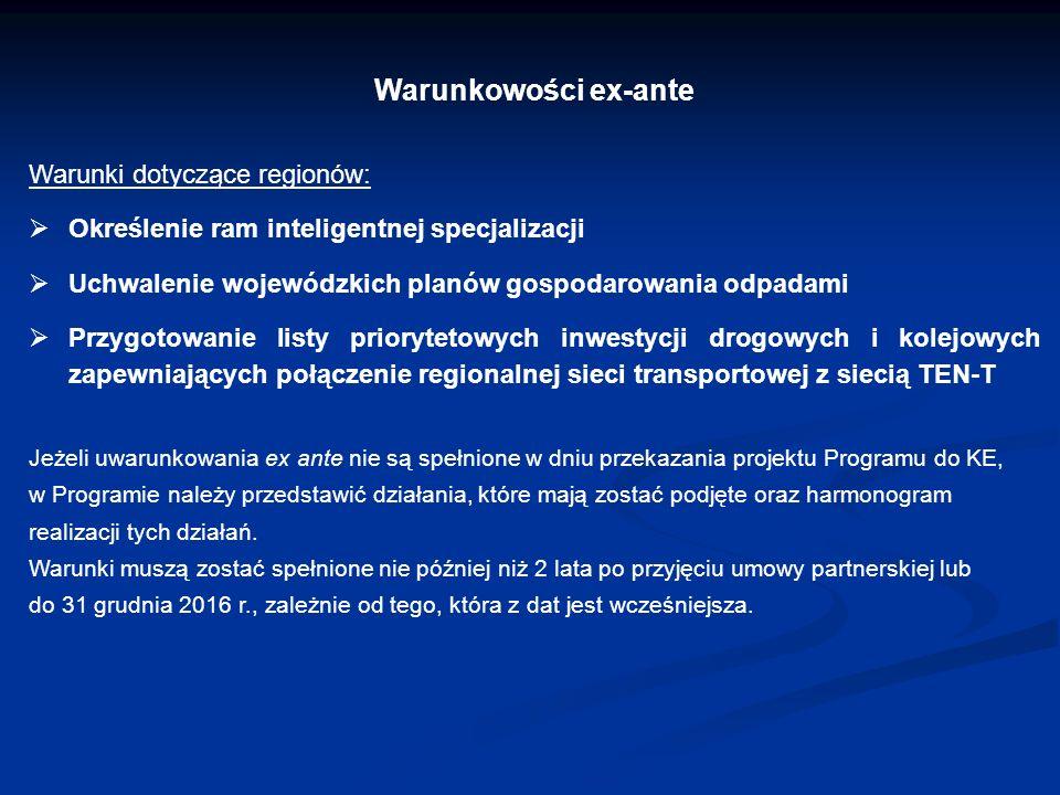 Urząd Marszałkowski Województwa Wielkopolskiego w Poznaniu Linia demarkacyjna na lata 2014-2020 (przykłady) Społeczeństwo informacyjne brak wsparcia budowy sieci szerokopasmowych, wsparcie dla przedsiębiorców (głównie MŚP, w tym m.in.