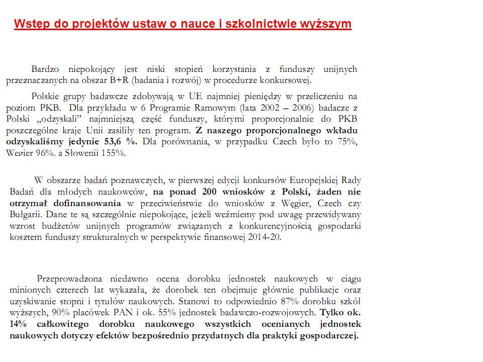 Obecnie w Polsce studenci kształcą się na ponad 200 kierunkach, w tym unikatowych oraz makrokierunkach.