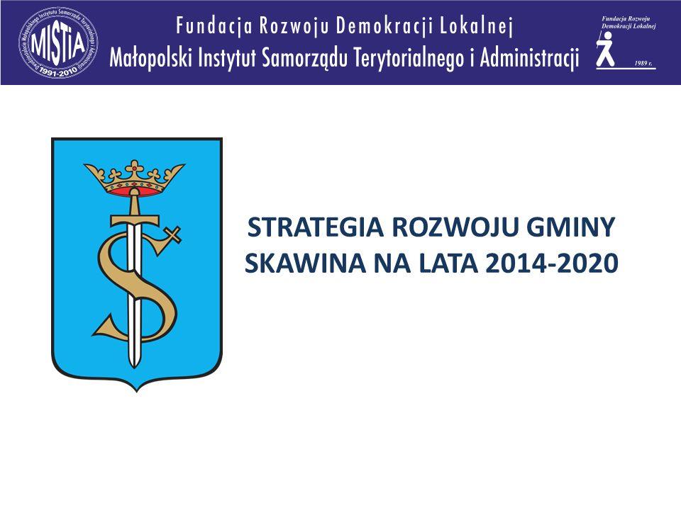 STRATEGIA ROZWOJU GMINY SKAWINA NA LATA 2014-2020