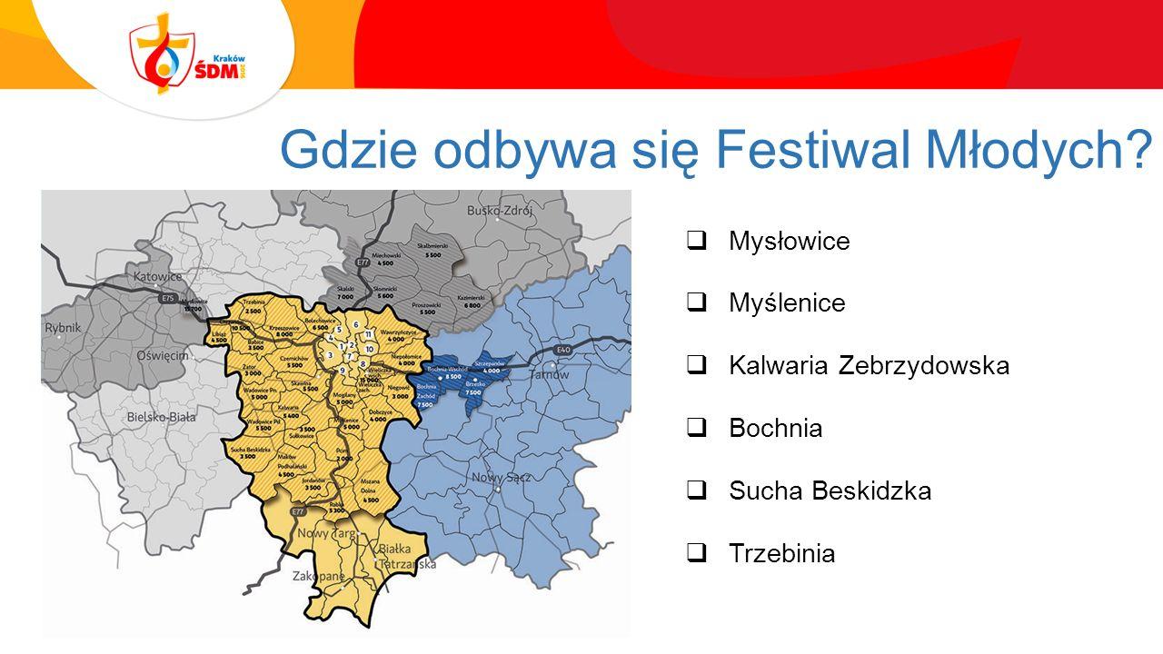 Gdzie odbywa się Festiwal Młodych.