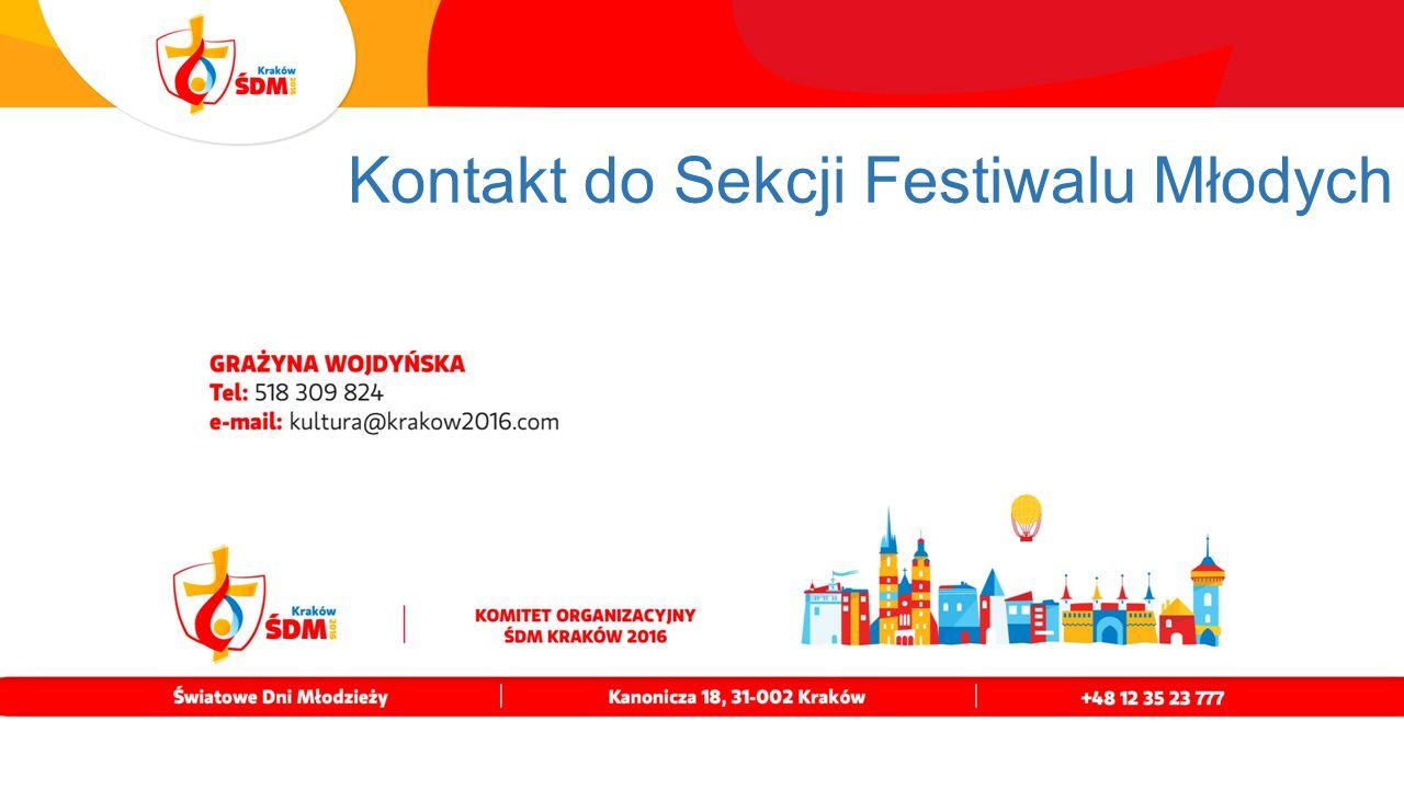 Kontakt do Sekcji Festiwalu Młodych