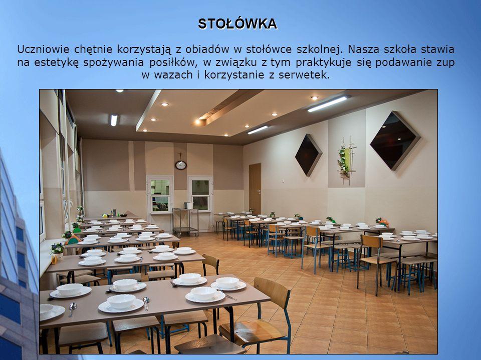 STOŁÓWKA Uczniowie chętnie korzystają z obiadów w stołówce szkolnej.