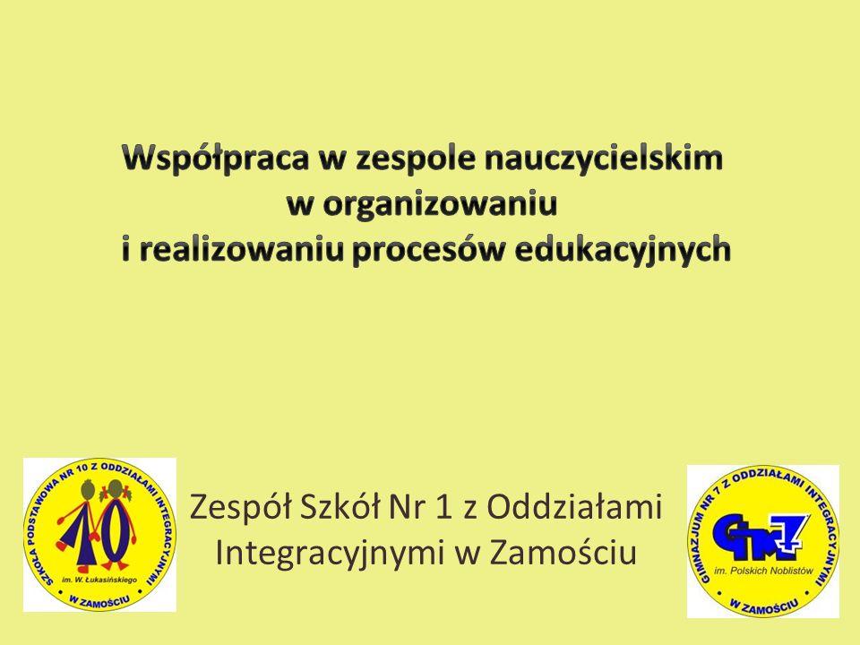 Zespół Szkół Nr 1 z Oddziałami Integracyjnymi w Zamościu
