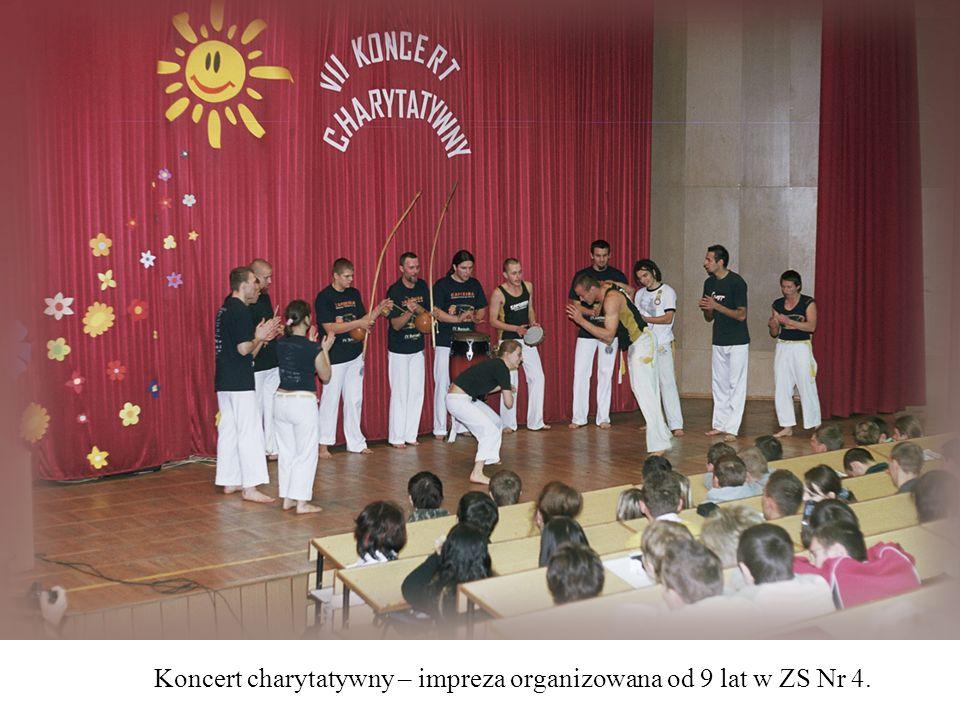 Koncert charytatywny – impreza organizowana od 9 lat w ZS Nr 4.