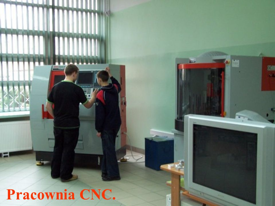 Pracownia CNC.
