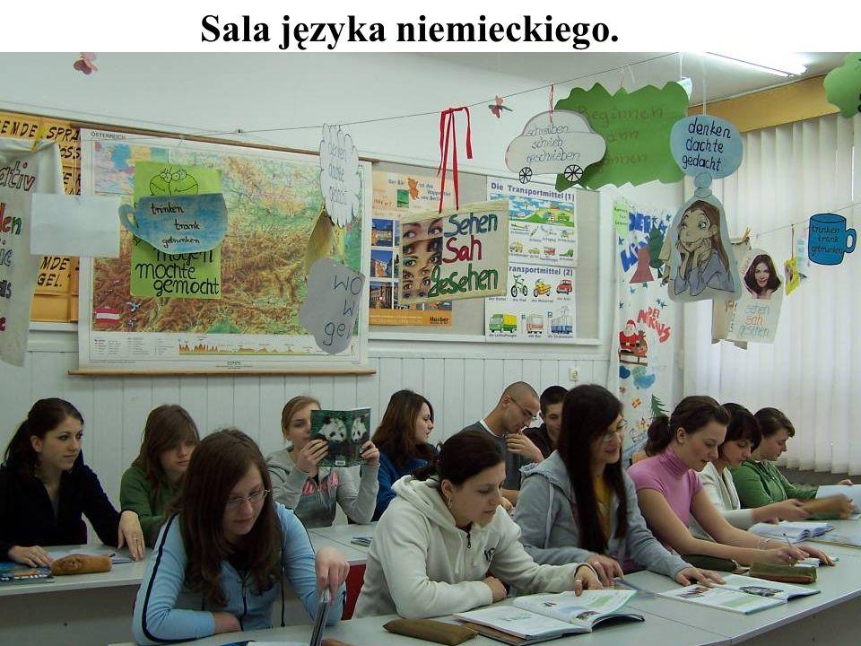 Sala języka niemieckiego.