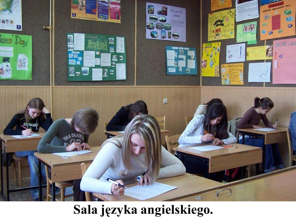 Sala języka angielskiego.