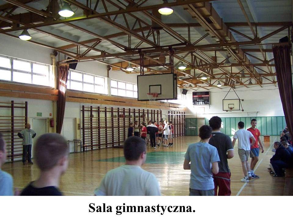 Sala gimnastyczna.