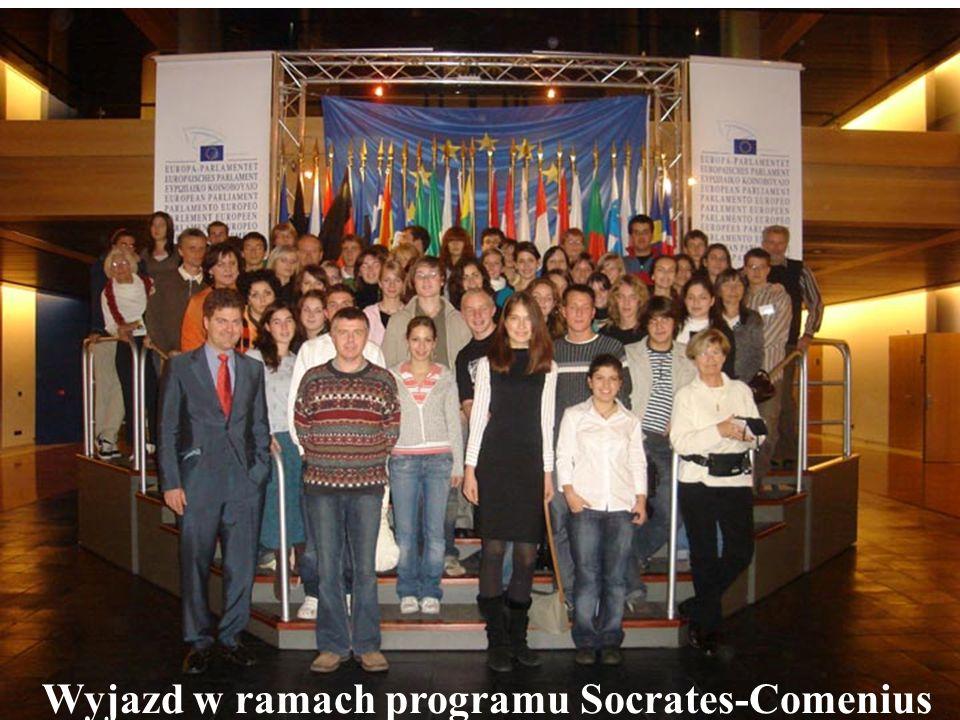 Wyjazd w ramach programu Socrates-Comenius