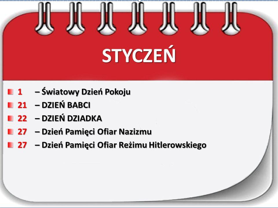 LISTOPAD 11 – Święto Niepodległości 22-26 – Dni Honorowego Krwiodawstwa Polskiego Czerwonego Krzyża
