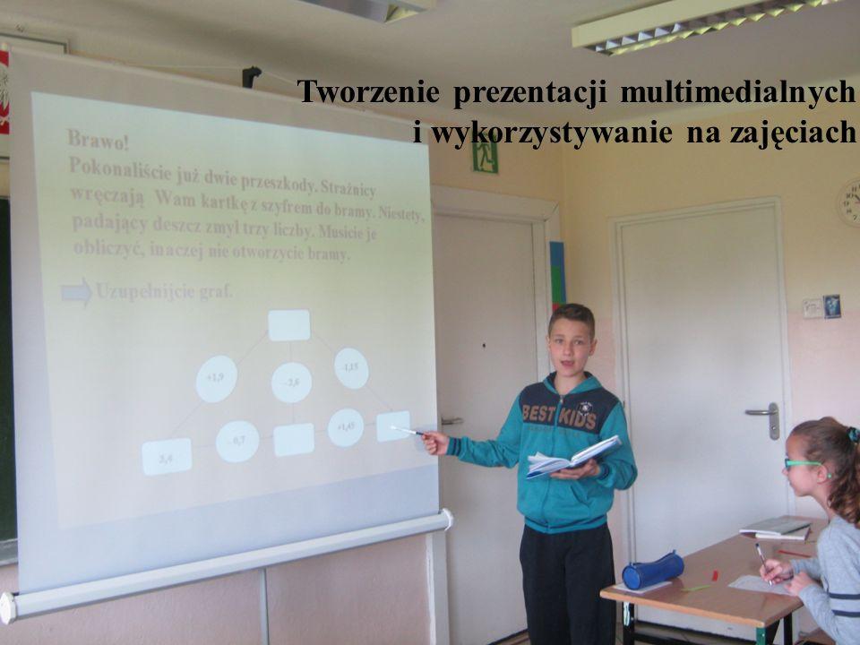 Tworzenie prezentacji multimedialnych i wykorzystywanie na zajęciach