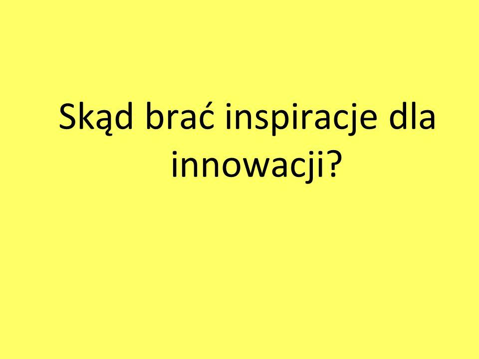 Skąd brać inspiracje dla innowacji