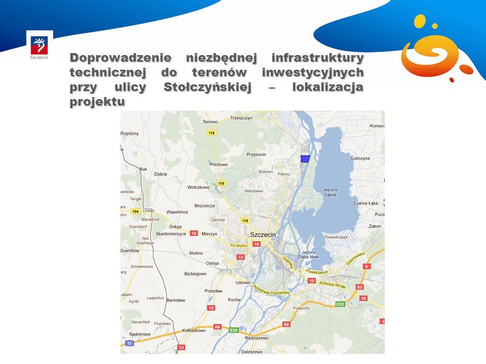 Doprowadzenie niezbędnej infrastruktury technicznej do terenów inwestycyjnych przy ulicy Stołczyńskiej – koncepcja