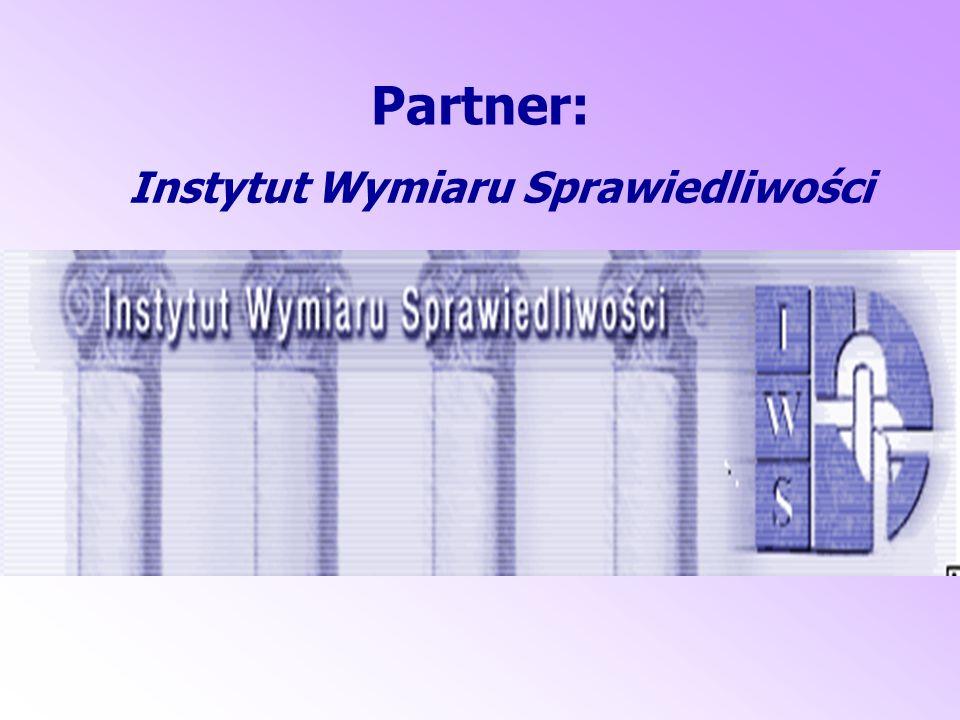 Partner: Instytut Wymiaru Sprawiedliwości