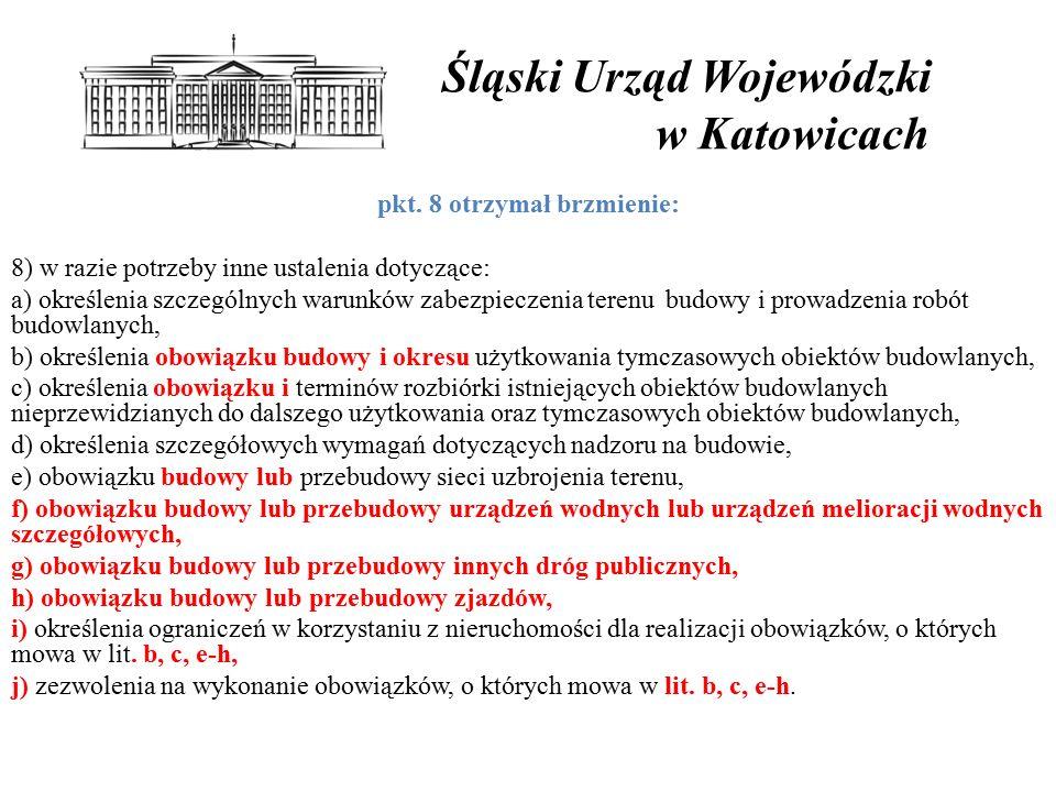 Śląski Urząd Wojewódzki w Katowicach pkt.