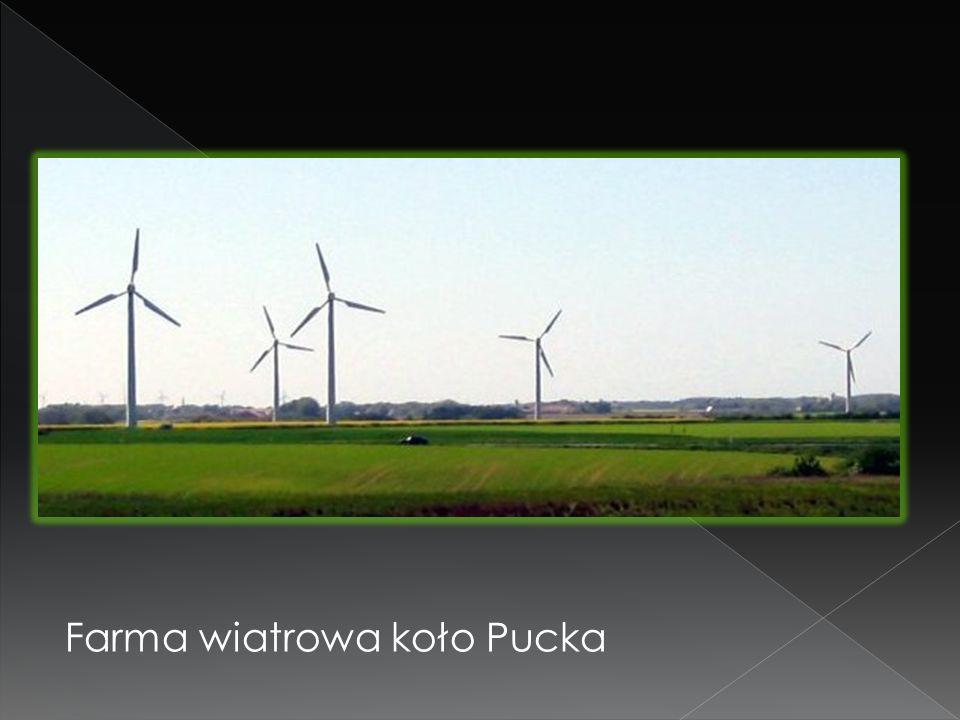 Farma wiatrowa koło Pucka