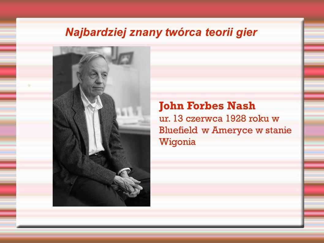 John Forbes Nash ur.