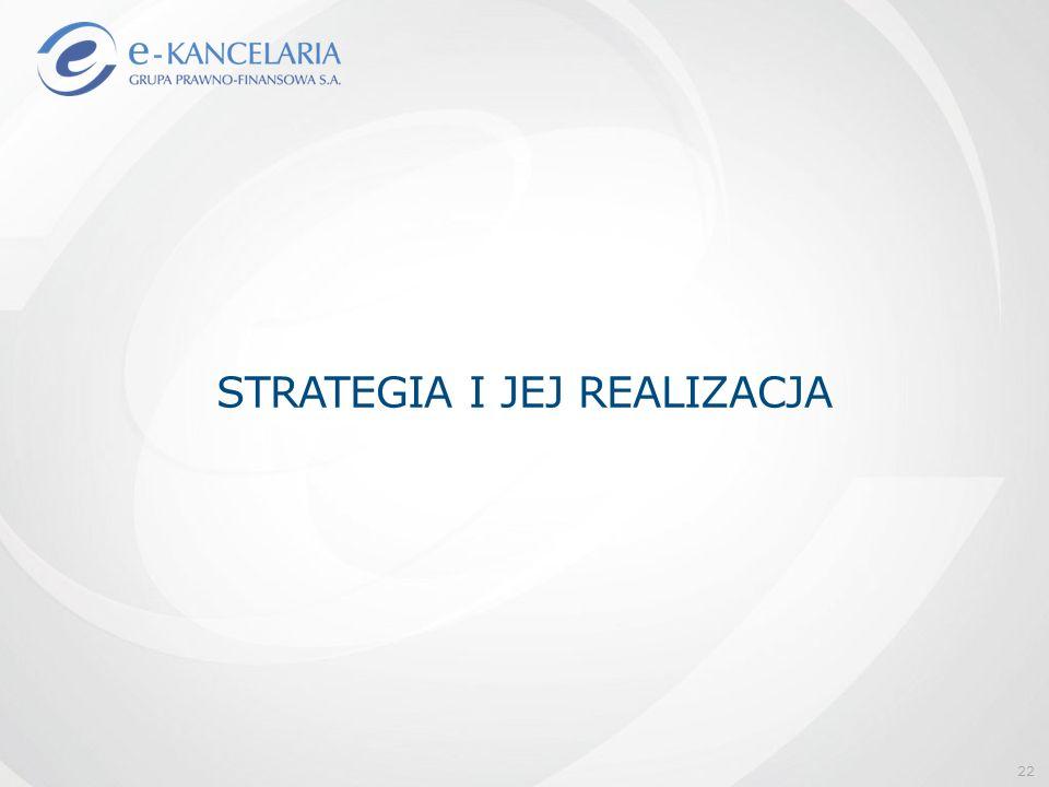 STRATEGIA I JEJ REALIZACJA 22