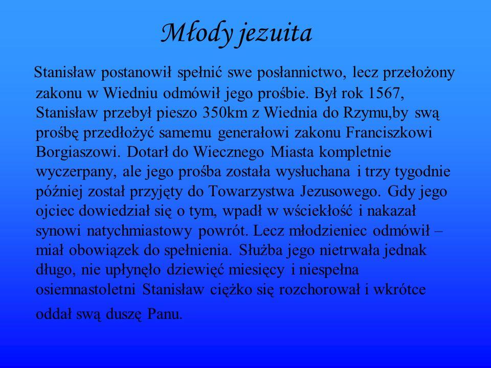 Portrety Św. Stanisława Kostki
