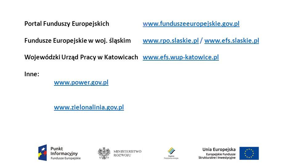 Portal Funduszy Europejskich www.funduszeeuropejskie.gov.plww.funduszeeuropejskie.gov.pl Fundusze Europejskie w woj.