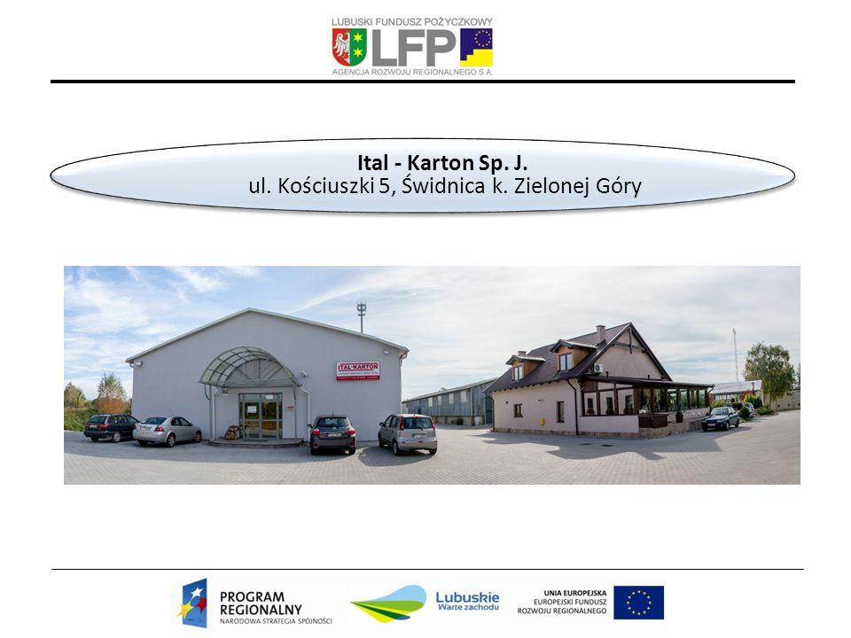 Ital - Karton Sp. J. ul. Kościuszki 5, Świdnica k.