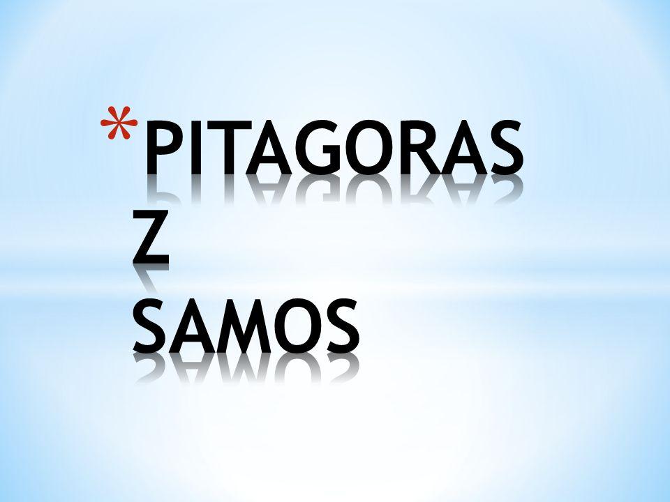 Umiłowaną figurą geometryczną pitagorejczyków był pentagram, zwany również gwiazdą pitagorejską.