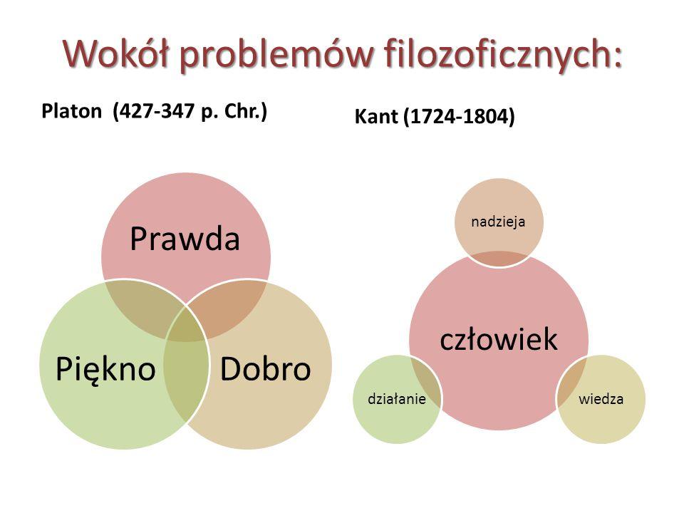 Wokół problemów filozoficznych: Platon (427-347 p.