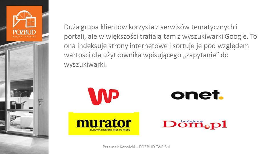 MTBM Przemek Kotwicki - POZBUD T&R S.A.