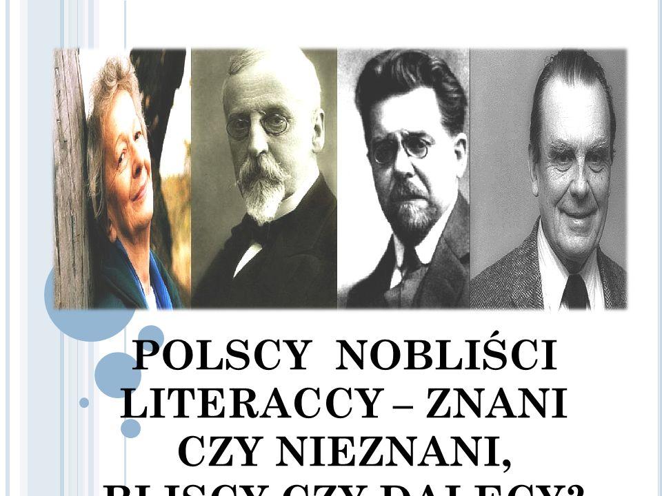 POLSCY NOBLIŚCI LITERACCY – ZNANI CZY NIEZNANI, BLISCY CZY DALECY