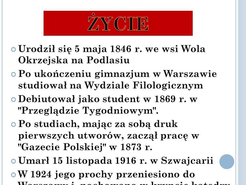 Urodził się 5 maja 1846 r.