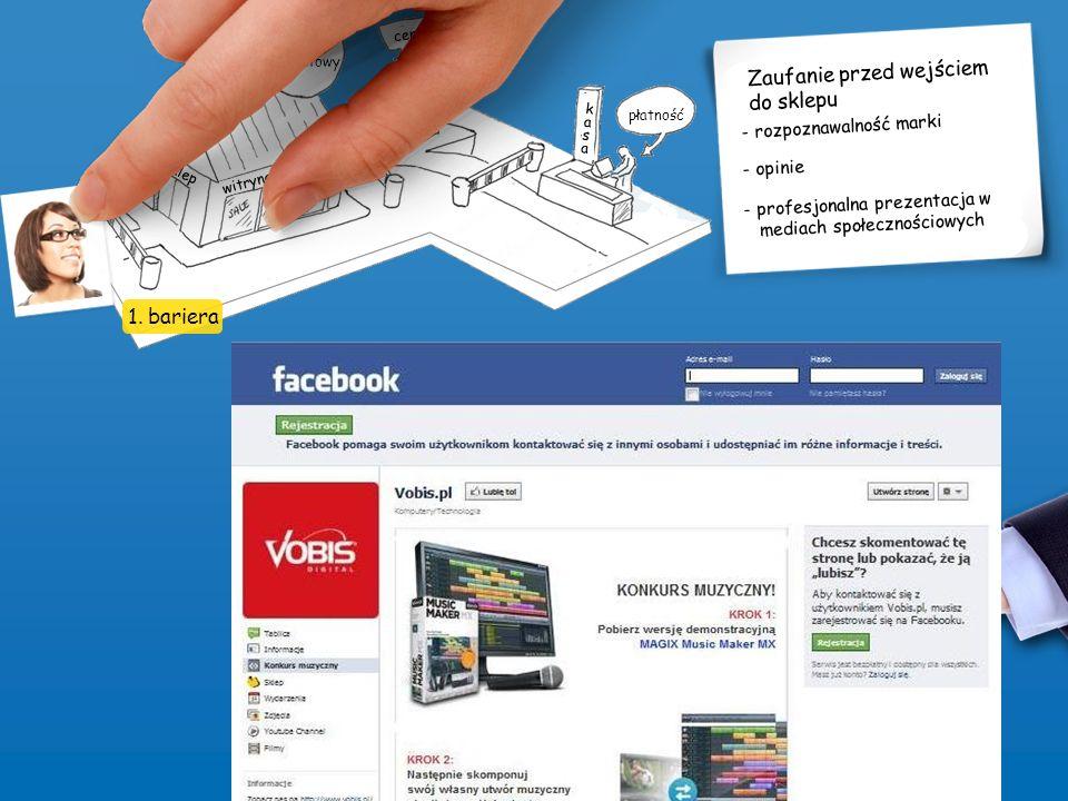 witryna sklepowa sklep internetowy cena płatność sklep zl s k l e p k a s a Zaufanie przed wejściem do sklepu - rozpoznawalność marki - profesjonalna prezentacja w mediach społecznościowych - opinie 1.