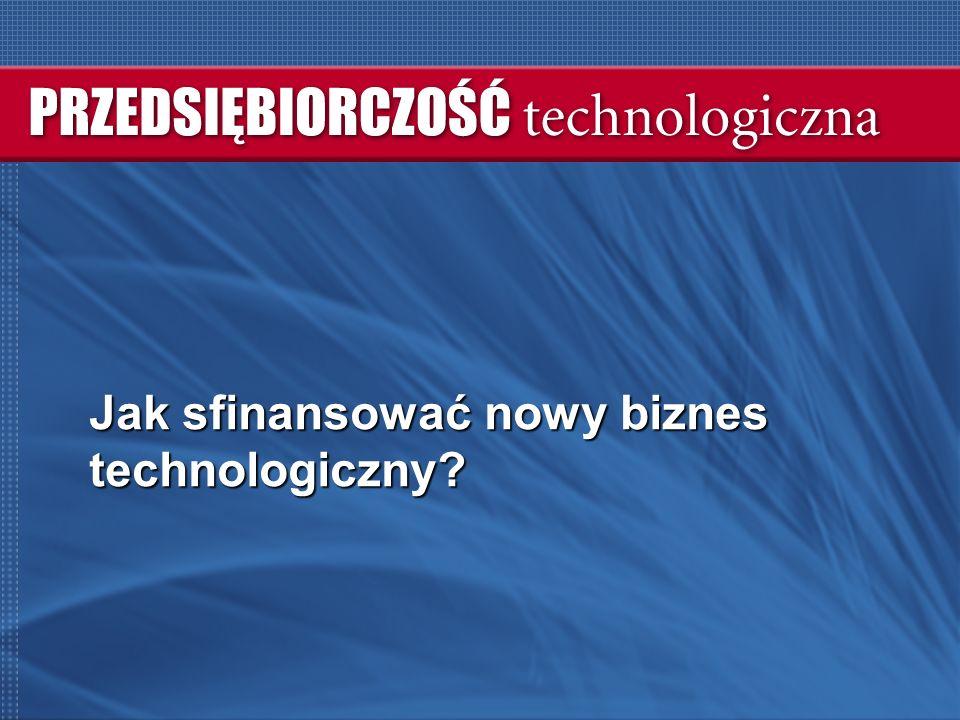 Jak sfinansować nowy biznes technologiczny?