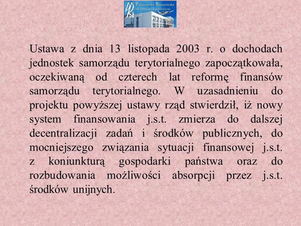 Ustawa z dnia 13 listopada 2003 r.
