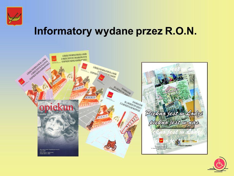 Informatory wydane przez R.O.N.