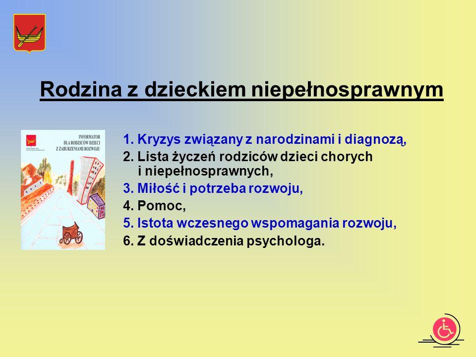 1. Kryzys związany z narodzinami i diagnozą, 2.