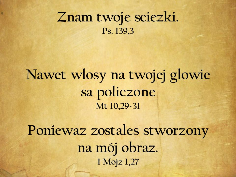 Znam twoje sciezki. Ps.