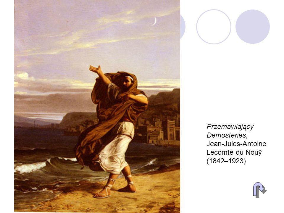 Przemawiający Demostenes, Jean-Jules-Antoine Lecomte du Nouÿ (1842–1923)