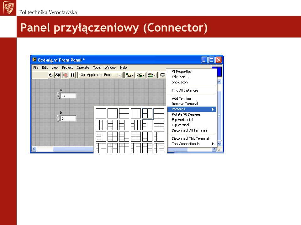 Panel przyłączeniowy (Connector) 