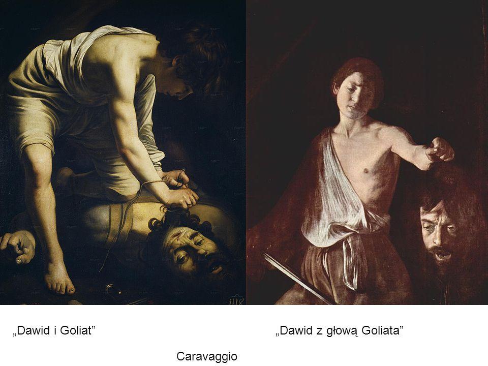 "Caravaggio ""Dawid i Goliat ""Dawid z głową Goliata"