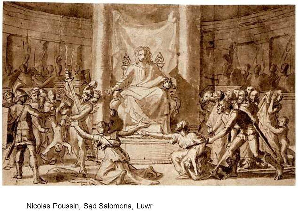 Nicolas Poussin, Sąd Salomona, Luwr