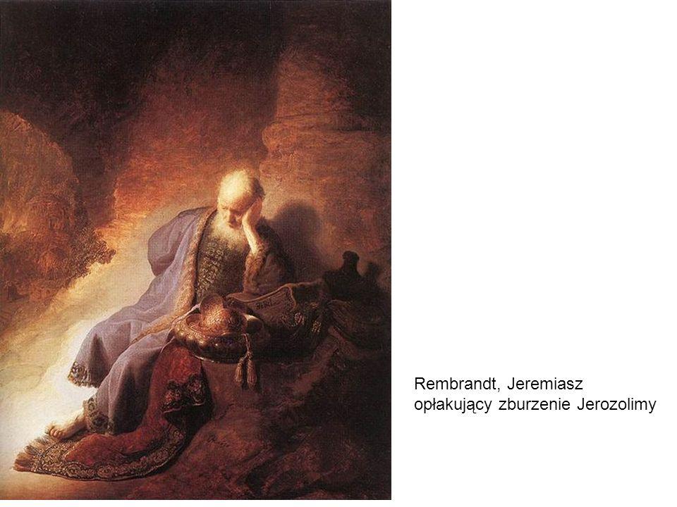 Rembrandt, Jeremiasz opłakujący zburzenie Jerozolimy