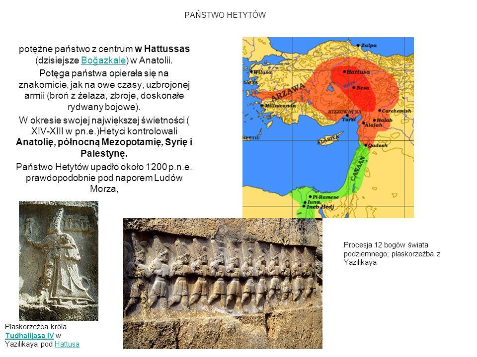 BITWA POD KADESZ 1275/1274 p.n.e.Ramzes II (2 tysiące rydwanów;20 tys.