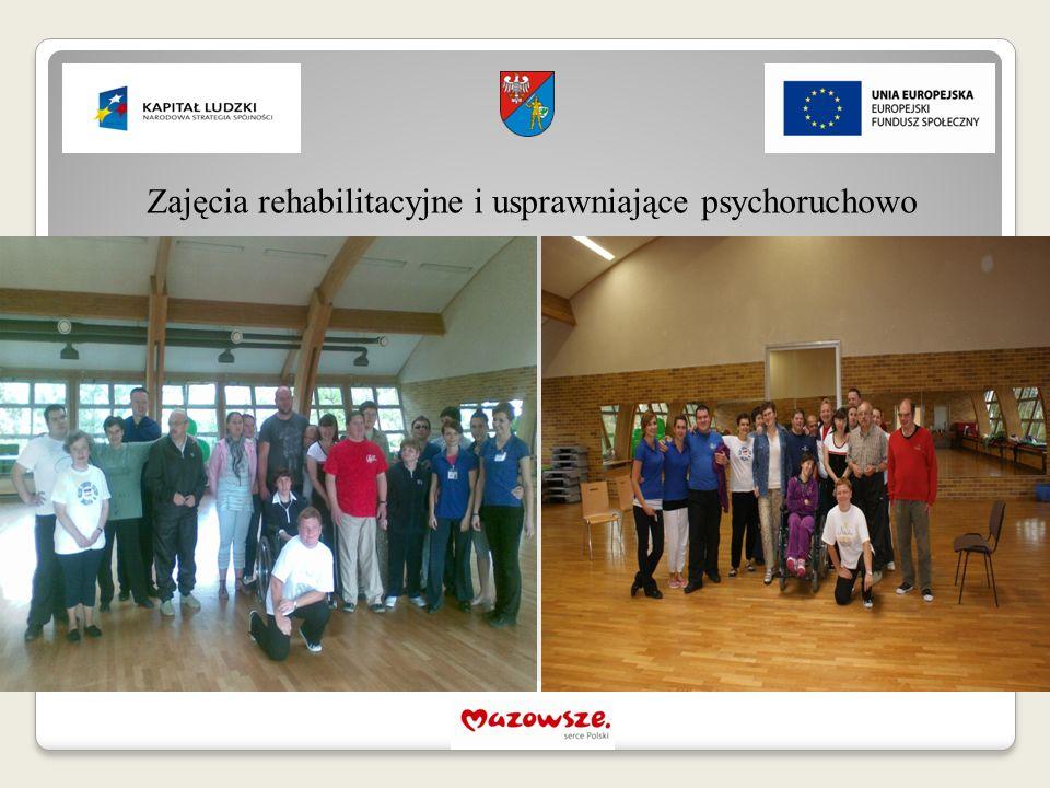 Zajęcia rehabilitacyjne i usprawniające psychoruchowo