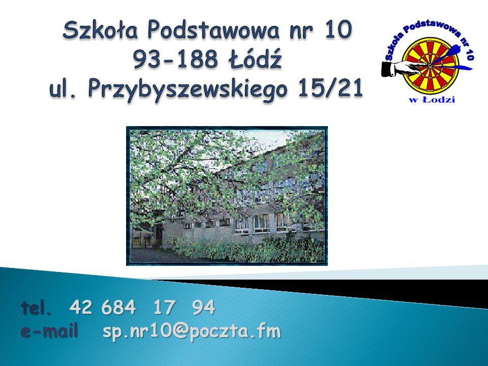 tel. 42 684 17 94 e-mail sp.nr10@poczta.fm