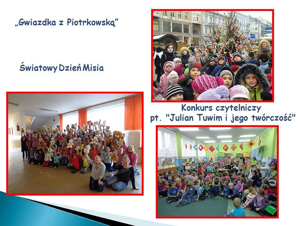 """""""Gwiazdka z Piotrkowską"""" Konkurs czytelniczy pt."""