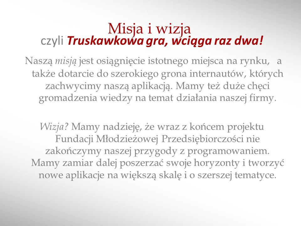 Truskawki- to my